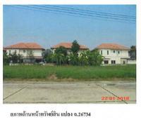 ที่ดินเปล่าหลุดจำนอง ธ.ธนาคารกรุงไทย ท้ายเกาะ สามโคก ปทุมธานี
