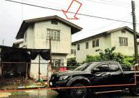 บ้านแฝดหลุดจำนอง ธ.ธนาคารอาคารสงเคราะห์ บึงคอไห ลำลูกกา ปทุมธานี